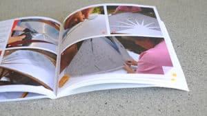 livre ouvert sur l'autoconstruction de four solaire