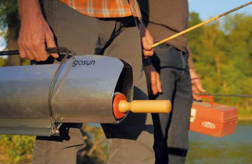 four solaire pêche