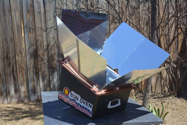 réflecteur cuiseur solaire