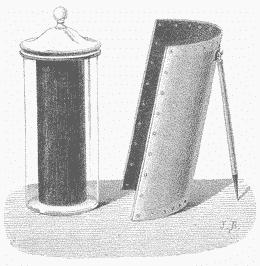 four solaire domestique de type Mouchot