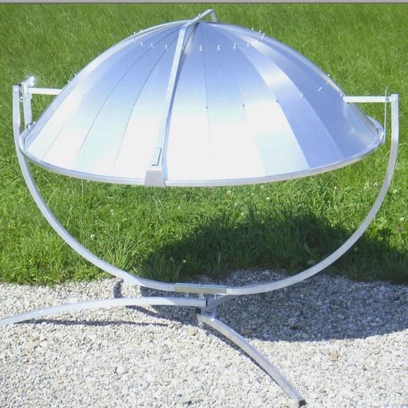 parabole solaire rangement