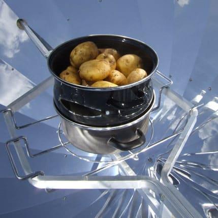 plat de pommes de terre