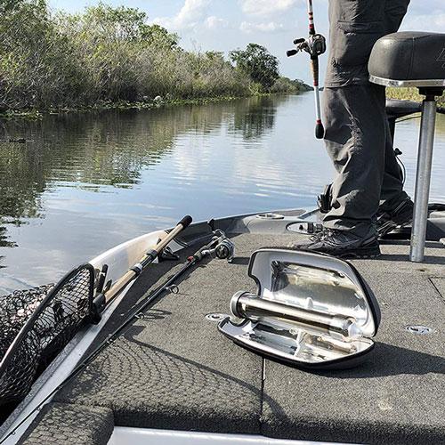 chauffer de l'eau avec le soleil à la pêche