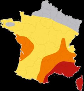 carte du climat