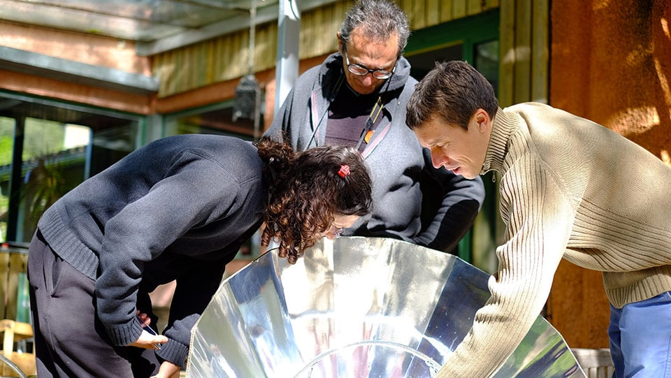 atelier fabrication four solaire