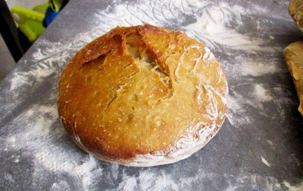 pain au four solaire