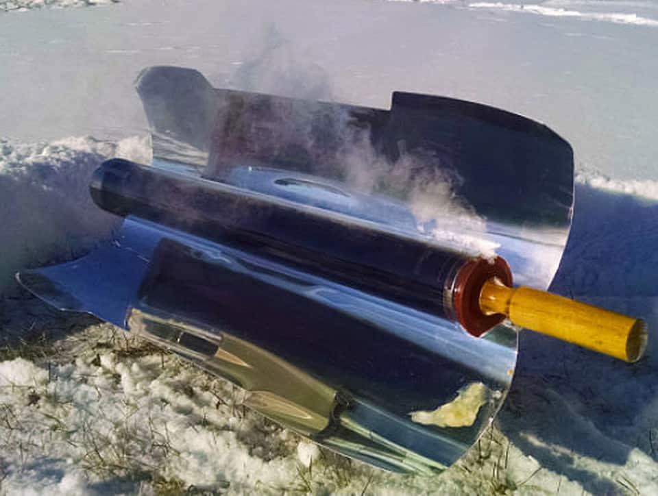 four solaire GoSun Sport chaleur