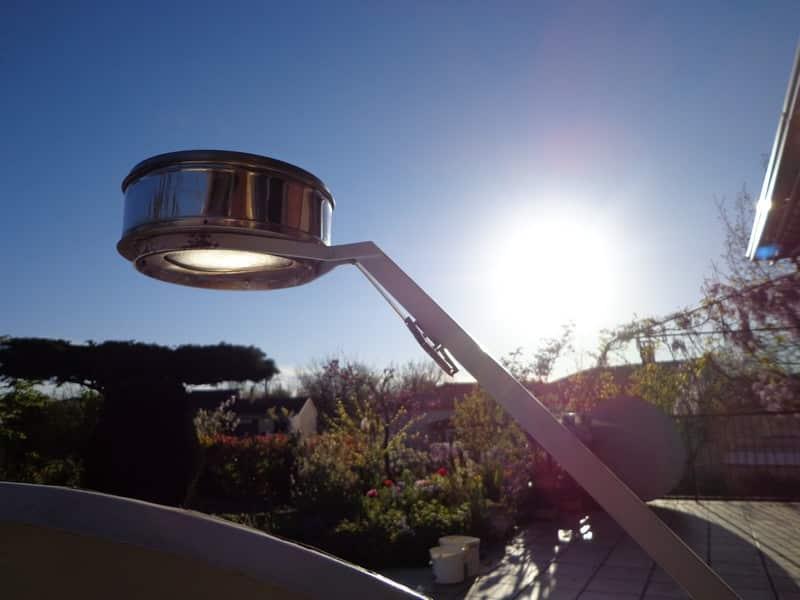 point focal du four solaire Suncalor